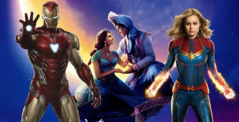 Disney tem os 3 filmes que mais arrecadaram nas bilheterias dos cinemas