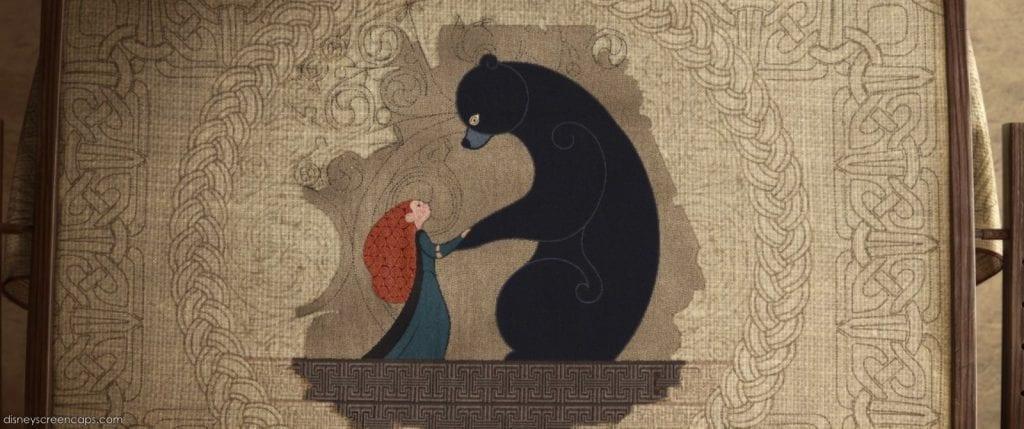 Ilustração do filme Valente
