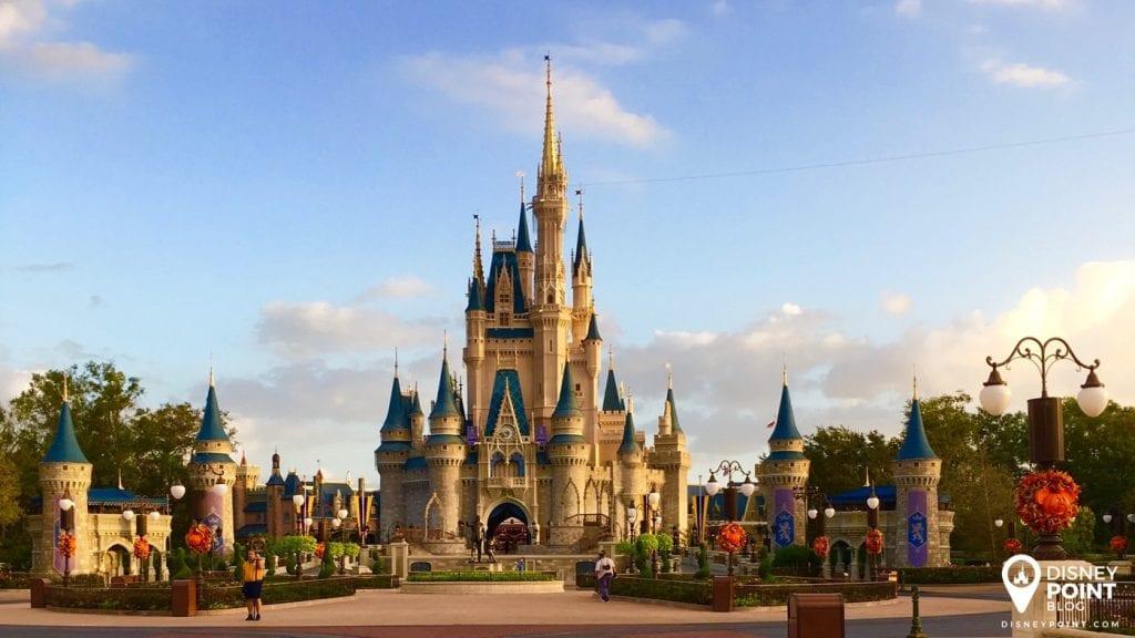 Castelo da Cinderela na Disney World