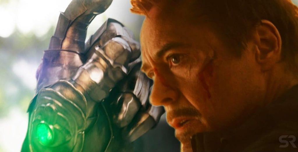 Vingadores: Ultimato Homem de Ferro e Manopla do Infinito