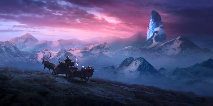 castelo elsa frozen