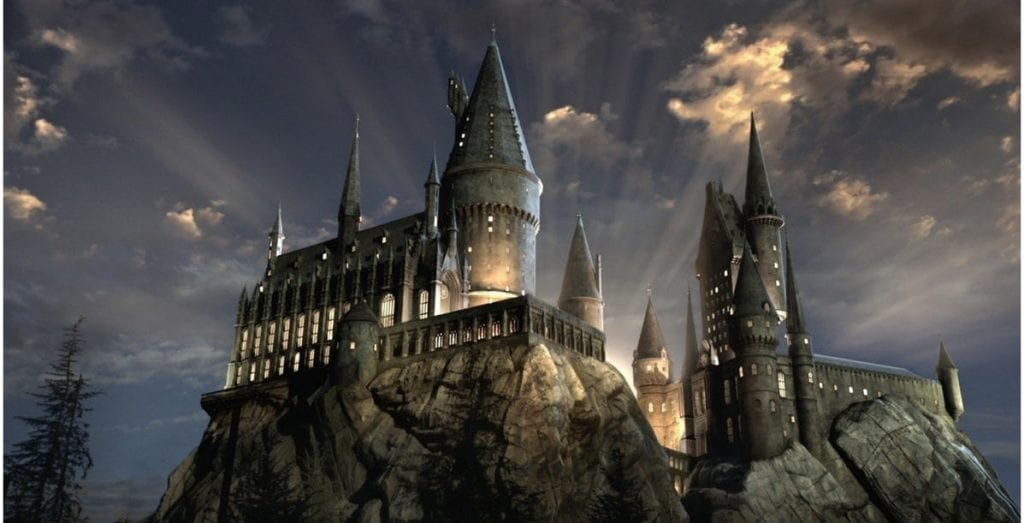 hogwarts castelo