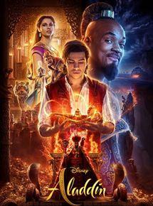 Cartaz oficial do live-action Aladdin