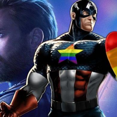 capitao america orgulho gay