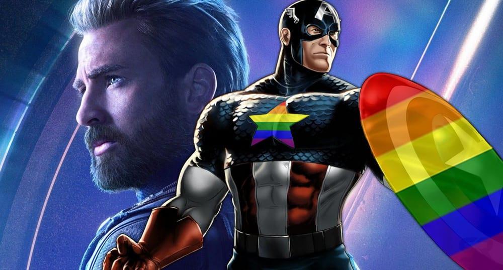 Capitão América se revolta contra desfile do orgulho hétero