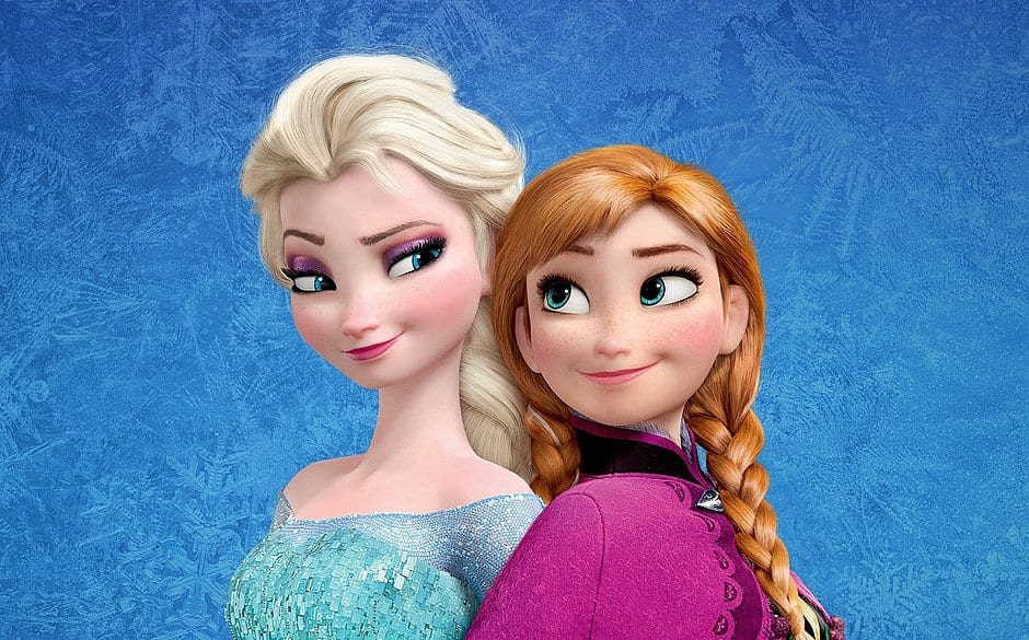 Elsa e Anna de Frozen