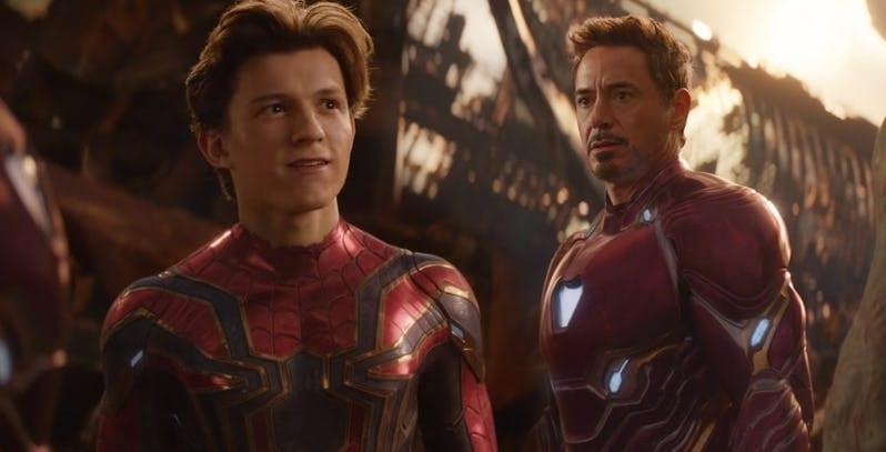 Homem de Ferro é o novo Tio Ben para Homem Aranha?