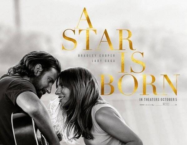 Cartaz de Nasce uma Estrela, de 2018
