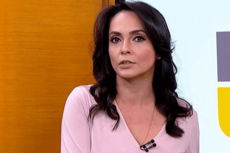 Izabella Camargo demitida da rede Globo após ser diagnosticada com Síndrome de Burnout Foto: Imagem do H1/ Globo
