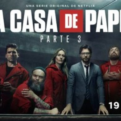 personagens de La Casa de Papel