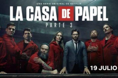 personagens de La Casa de Papel