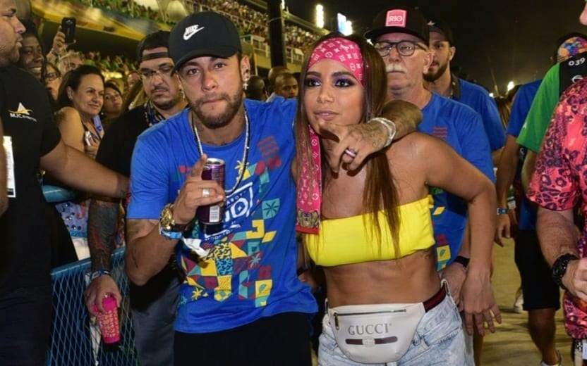 neymar beijando anitta