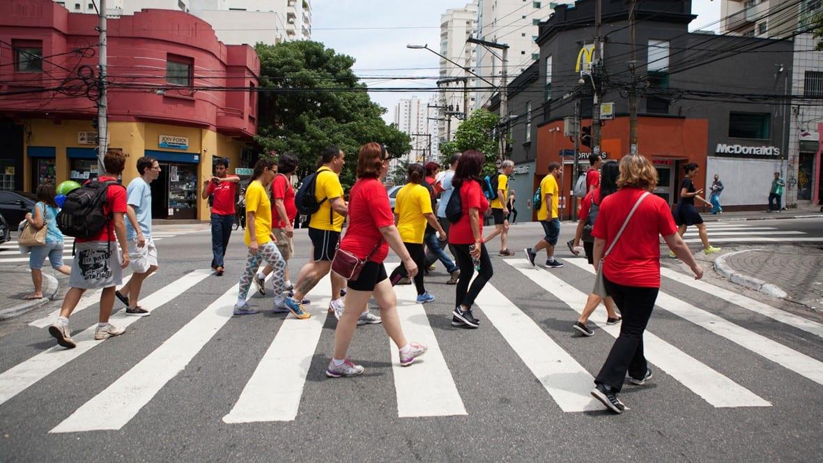 Vamos a Pé – Mobilidade Urbana em São Paulo