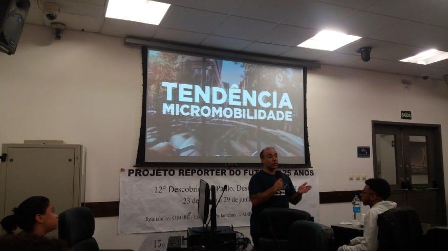 Vereador de São Paulo vê positividade em trabalho por aplicativo