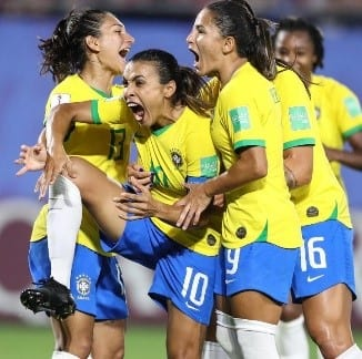 Marta: a jogadora é a maior artilheira da história das copas. (Phil Noble/Reuters)