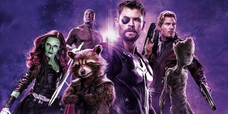 Guardiões da Galáxia com Thor