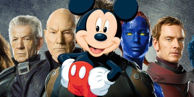 Mickey e XMen