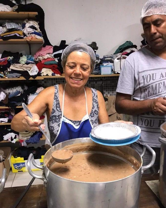 Grupo da Sopa espalha amor por São Paulo