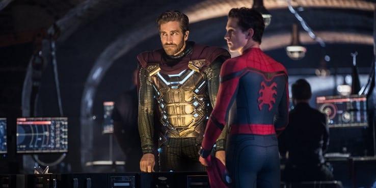 Mysterio e Homem Aranha