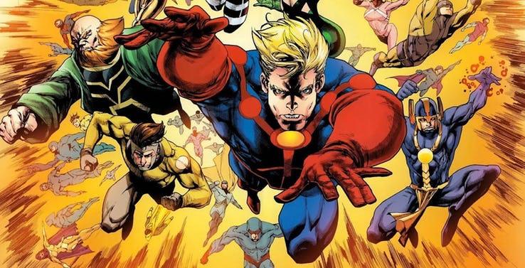 os Eternals da Marvel