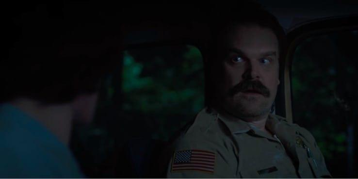 Hopper e Mike - Stranger Things