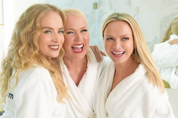 Dia do batom: Campanha girl power com Xuxa, Angélica e Eliana