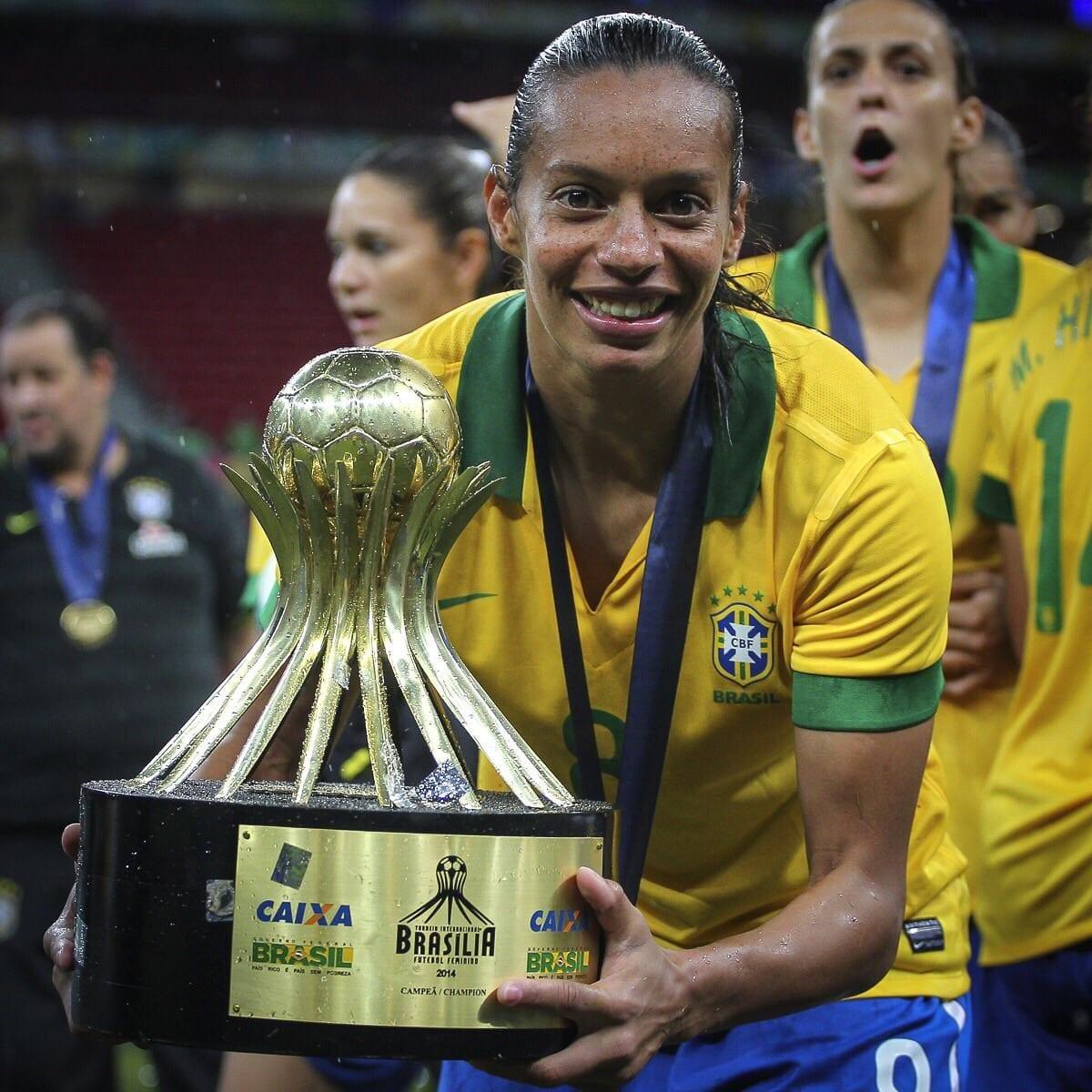 Fala! Entrevista Rosana Augusto, ex-Seleção, homenageada na Copa