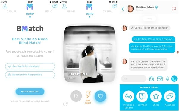 BMatch: Aplicativo de Relacionamento