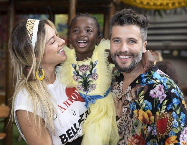 Bless, o novo filho de Bruno Gagliasso e Giovanna Ewbank