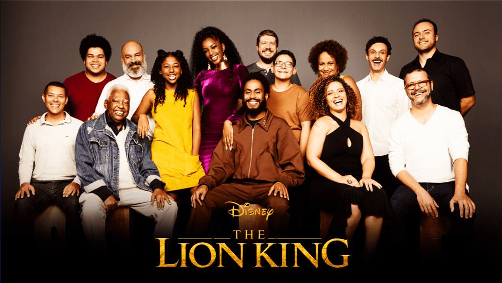 rei leão dublagem