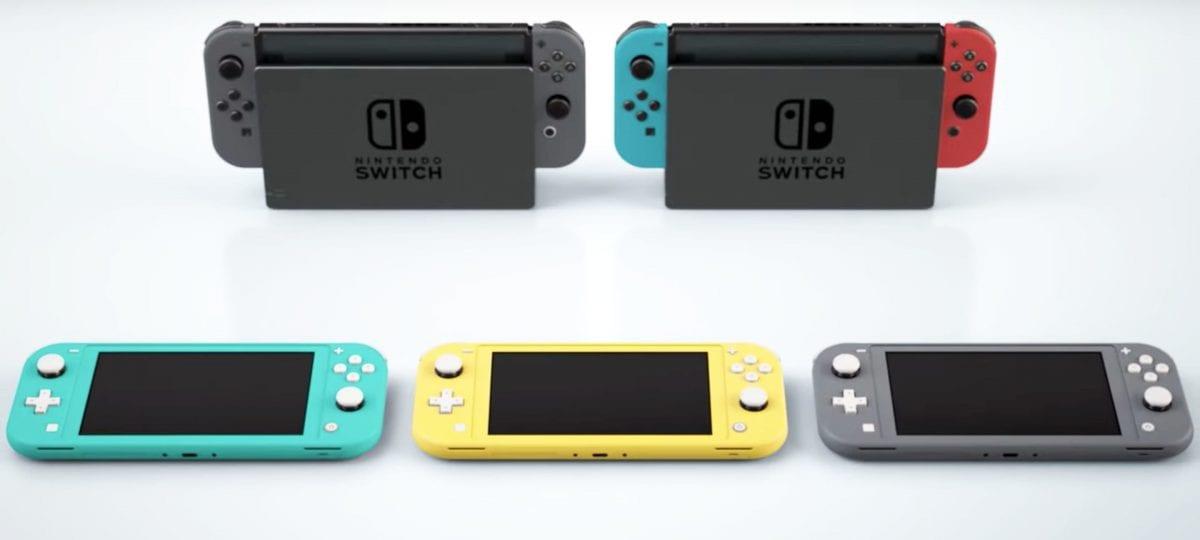 Nintendo Switch Lite: mais simples e barato