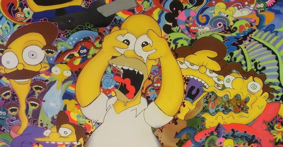 O LSD se popularizou junto ao movimento psicodélico.