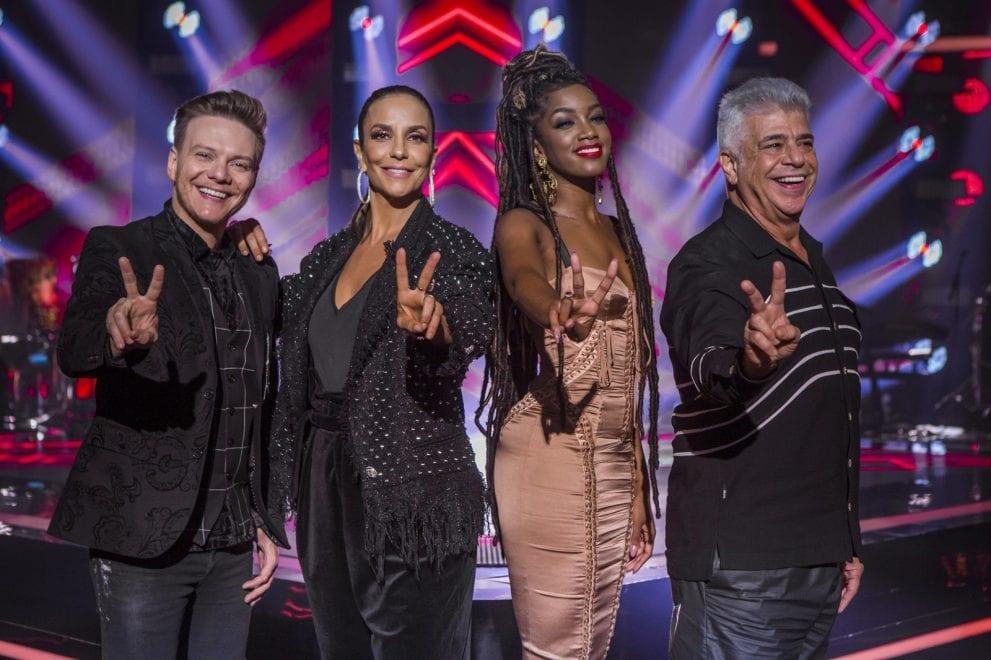 Michel Teló, Ivete Sangalo, Iza e Lulu Santos são os jurados de The Voice Brasil