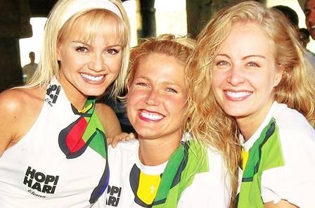 Eliana, Xuxa e Angélica nos anos 90