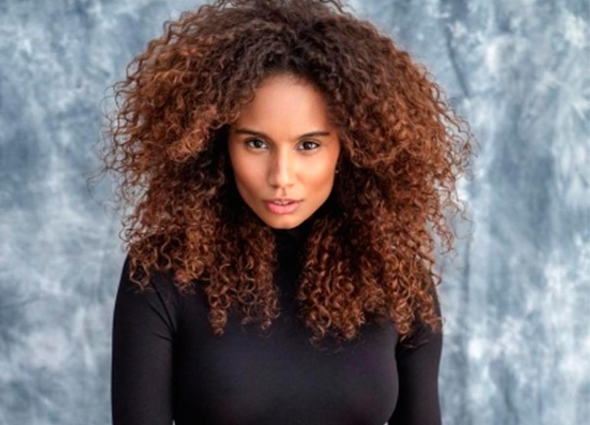 Ex-bailarina do Faustão da dicas de penteados para cabelos afro