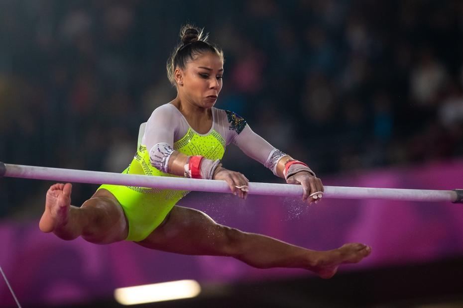 Flávia Saraiva medalha de bronze nos Jogos Pan-americanos de Lima, no Peru