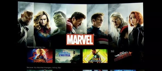 Filmes da Marvel no Disney+