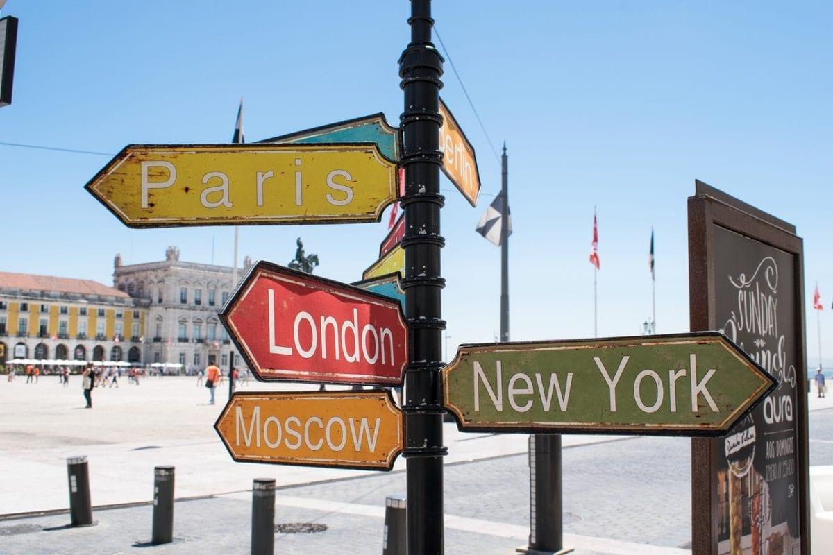 As 10 cidades mais visitadas do mundo