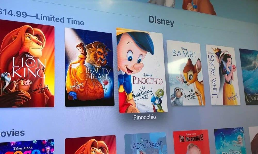 Desenhos da Disney estarão no Disney+