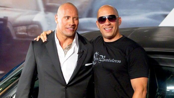 Dwayne Johnson e Vin Diesel