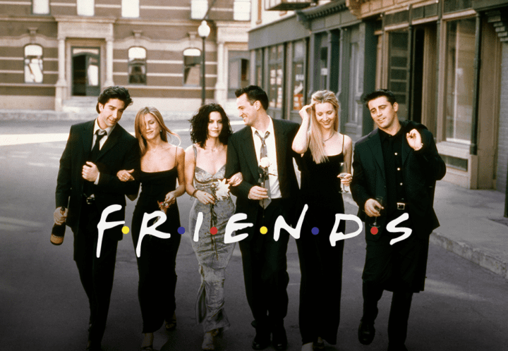 friends no cinema