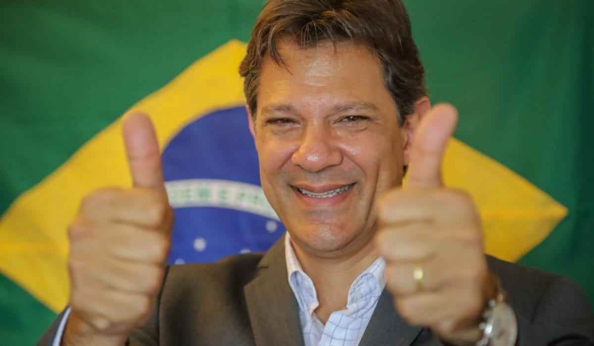 Haddad é condenado a prisão em regime semi aberto por Caixa 2 na campanha de 2012