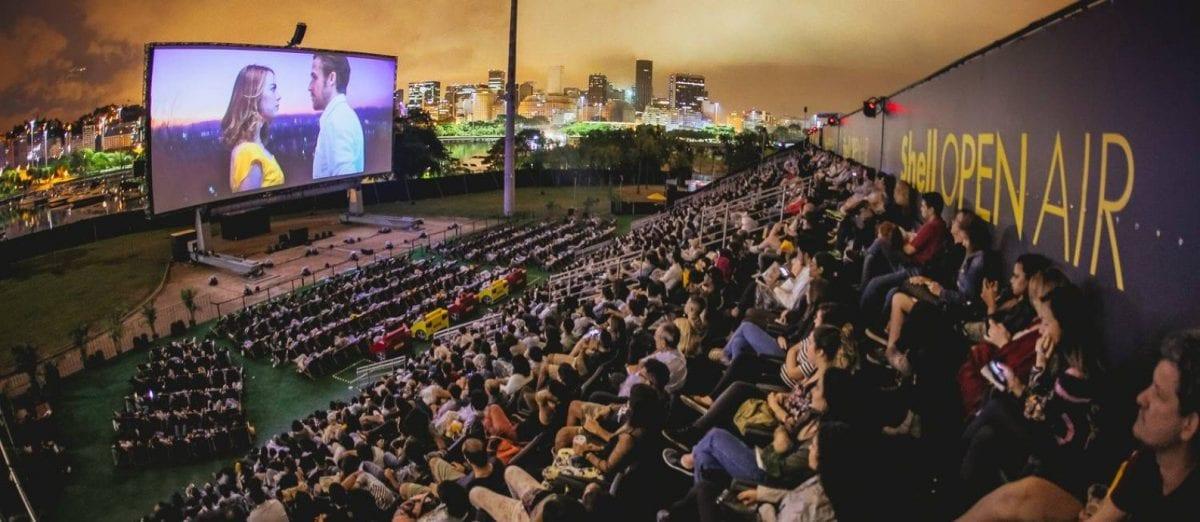 Shell Open Air traz cinema a céu aberto com sucessos de bilheteria