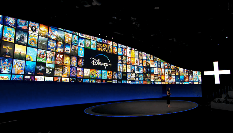 Títulos do Disney+