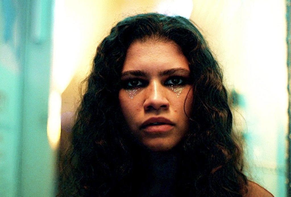 Zendaya em sua personagem, Rue.
