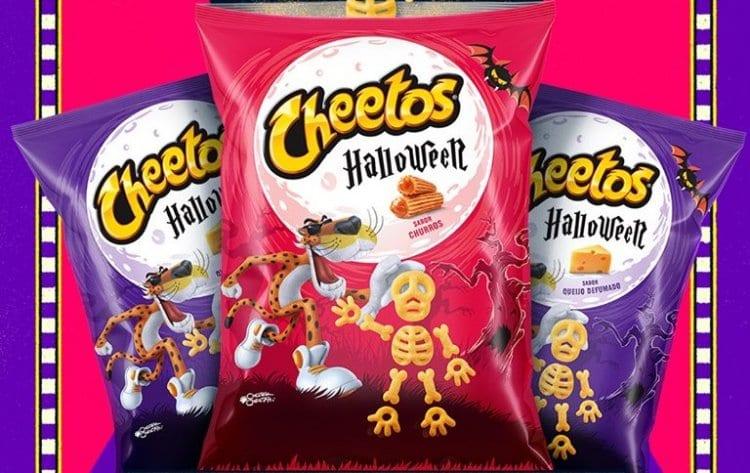 Cheetos lança salgadinho doce sabor churros para o Halloween