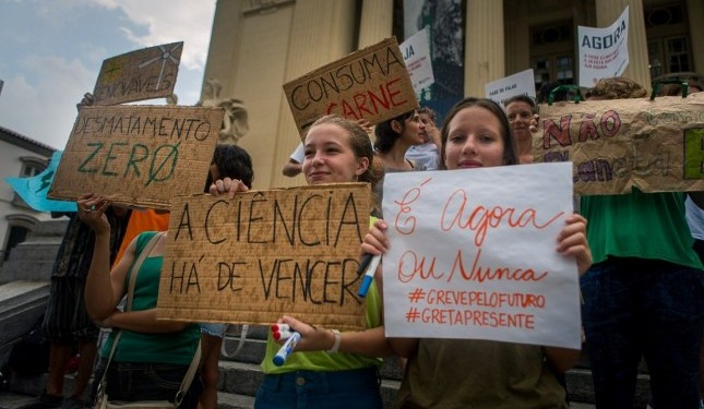 Greenpeace apoia Greve Global pelo Clima, em 20 de setembro