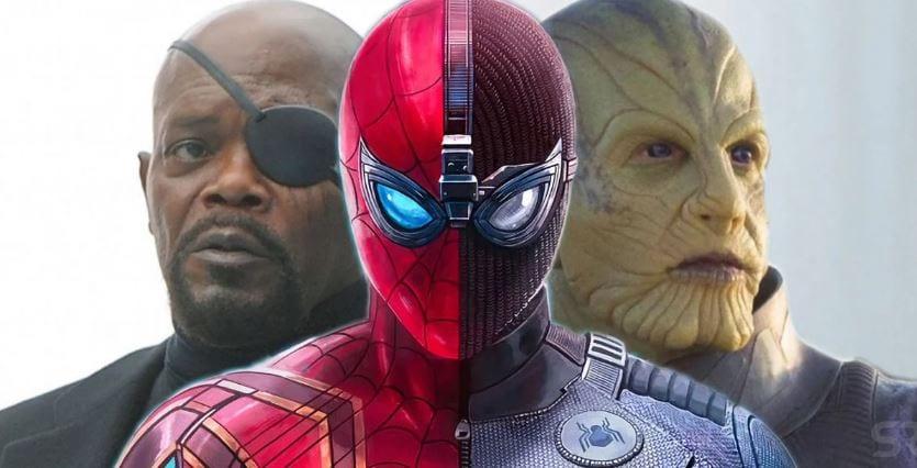 Homem-Aranha fora do MCU: o que será de Nick Fury e os Skrulls?