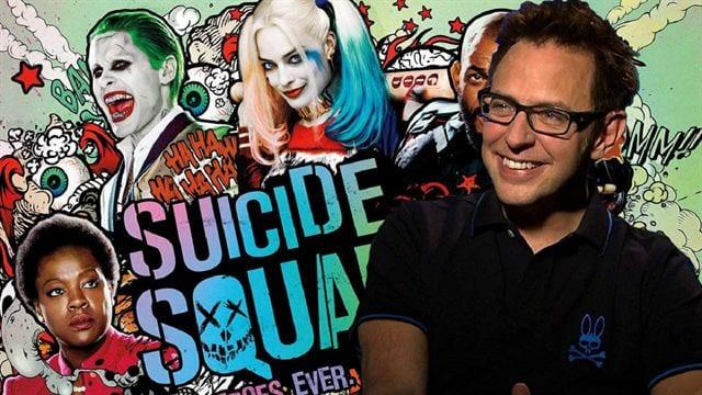 James Gunn posta foto com elenco de Esquadrão Suicida 2: Confira