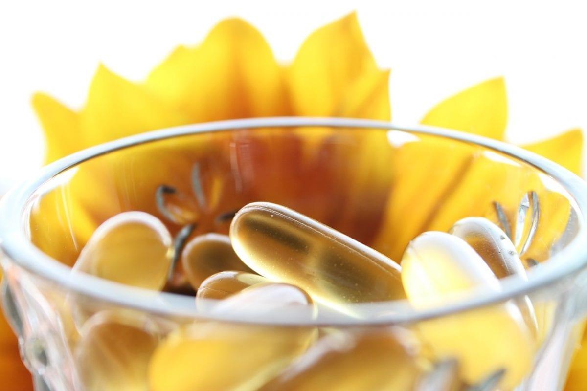 Perca peso com ajuda de suplemento natural